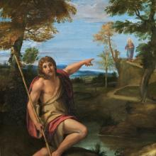 John the Baptist identifies Jesus Christ