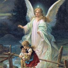 Guardian Angel by Zabateri, aka Hans Zatzka