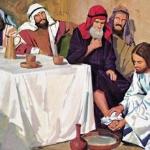 John Nelson, 20th Century, American illustrator. Images of the life of Jesus Christ.